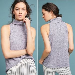 Anthro Saturday Sunday Larche Brushed Fleece Tank